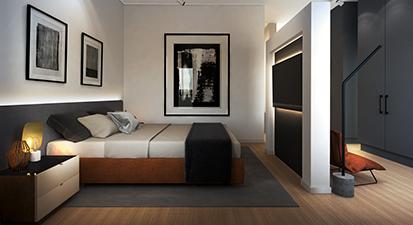 Madison Duplex Main Bedroom [High Resolution]